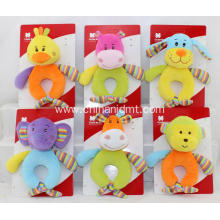 6 style different  soft plush baby toy